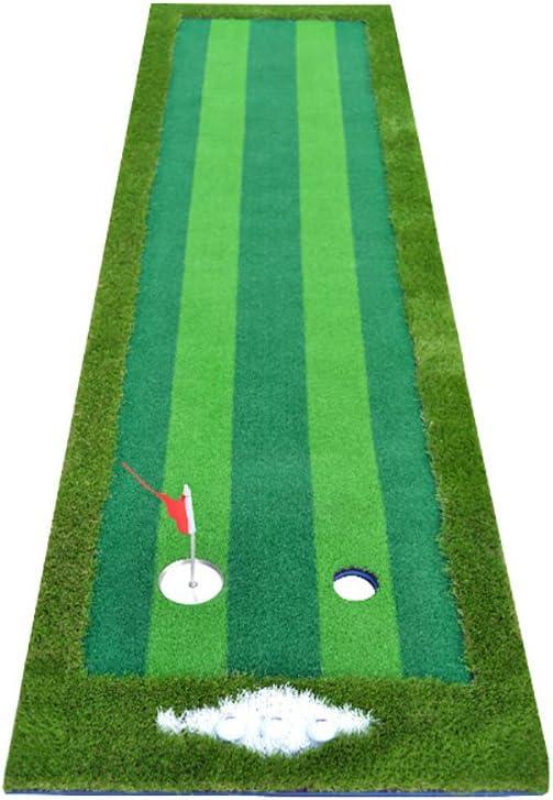 ゴルフ屋内練習マットパットプラクティスマット3m