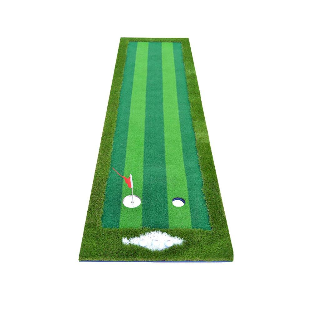 Hong Tai Yang ゴルフマット - ゴルフ屋内練習マットパットプラクティスマット3m *-*   B07P996HJJ