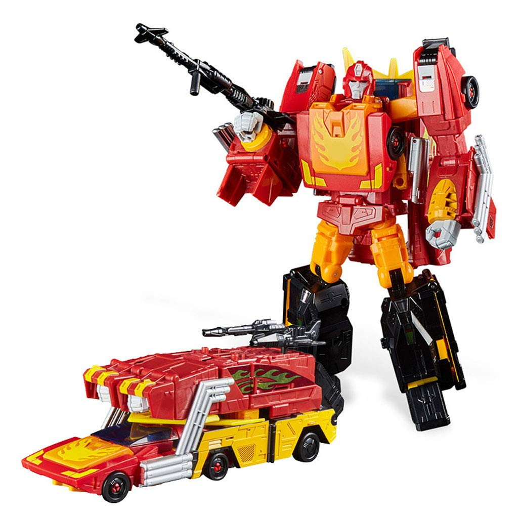 Hero-Rettungsroboter-Spielzeug, Verformungsroboter-Modell, Auto-Verformungsroboter, großes Robotergeschenk (Farbe : 2)