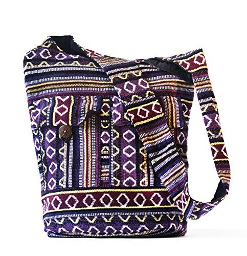 GYPSY…Handmade Crossbody Shoulder strap bags casual messenger Tote travel Handbags for men women girl