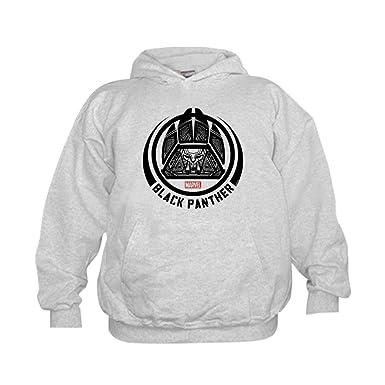 b9e936a2 Amazon.com: CafePress Black Panther Symbol - Kids Hooded Sweatshirt ...