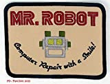 MR ROBOT FSOCIETY TV SHOW Embroidery Patch Halloween costume Badge Easy Iron On offers