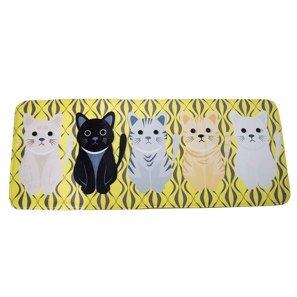 Vinmax Cartoon Doormat, Lovely Entrance Doormat Anti-slip Front Door Mat for Home Bathroom Kitchen Bedroom Living Room Carpet (B)