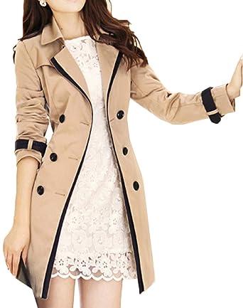 Classique Automne Hiver Coat Femmes Et Trench Long Manteau Snone qvwI1Z
