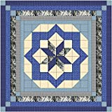 Easy Quilt Kit Constellation/Classic Navy/Queen/EXPEDITED SHIPPING