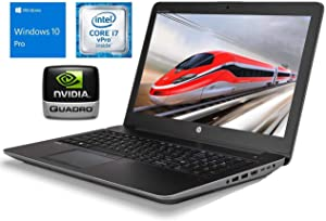 "HP Zbook 15 G3 Mobile Workstation, 15.6"" FHD Display, Intel Core i7-6820HQ Upto 3.6GHz, 32GB RAM, 1TB 2.5"" SSD, NVIDIA Quadro M2000M, HDMI, VGA, Thunderbolt, Wi-Fi, Bluetooth, Windows 10 Pro"