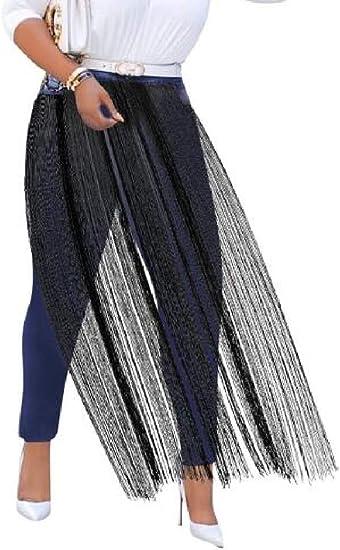 FRPE Women Skinny Pencil Pants Tassel Fashion High Waist Denim Jeans Pants