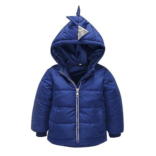 Abrigo acolchado para bebé niño en capucha,Yannerr abajo capa gruesa chaqueta otoño invierno cálido ...