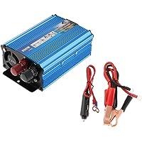 D DOLITY 500 Watt Power Inverter 12V Converter DC to 220V AC for Car Solar Off-Grid RV Back Up Power - Blue, 15x5.5x9…
