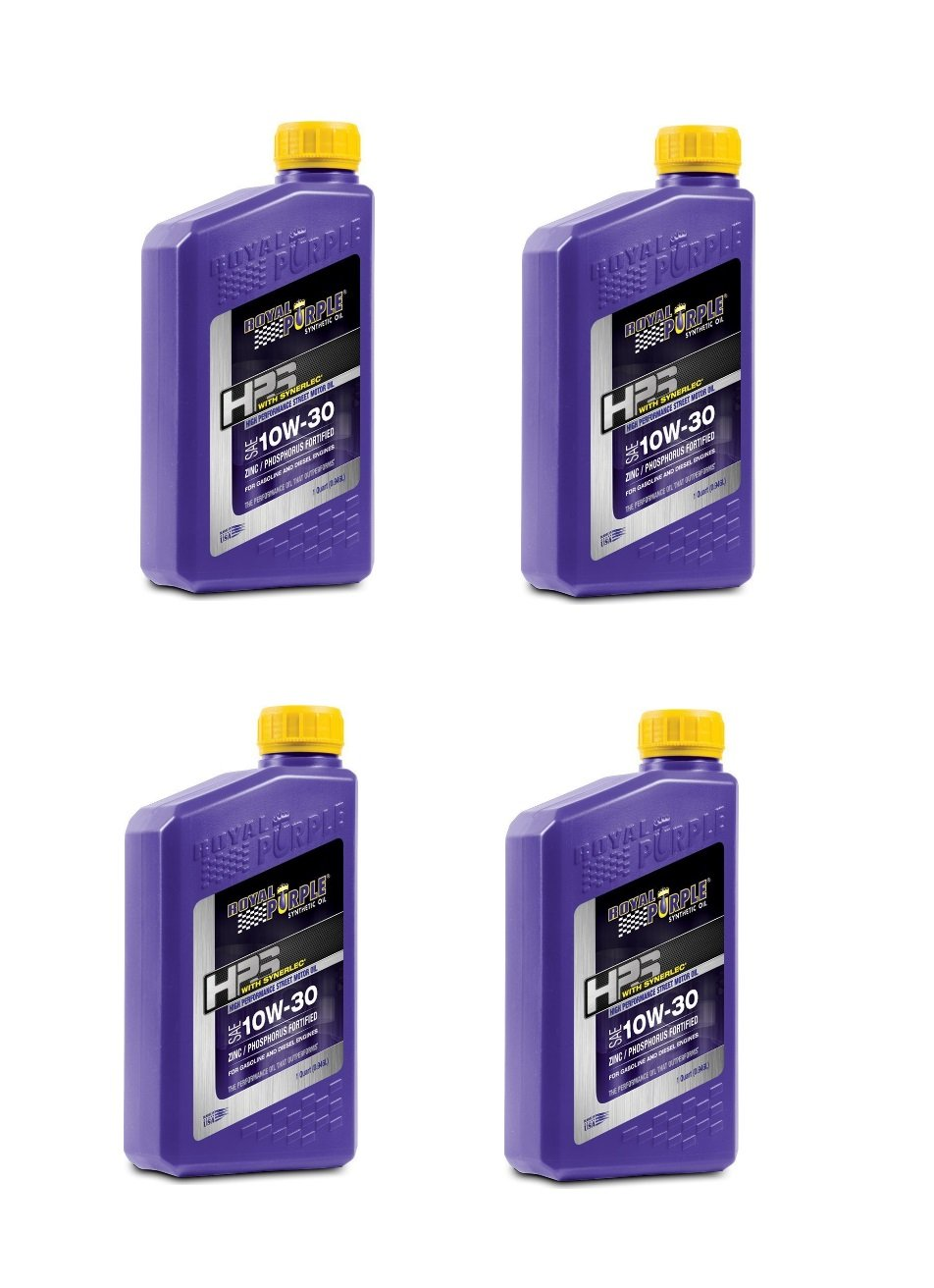 Royal Purple HPS 10W30 Synthetic Motor Oil with Synerlec Additive Technology - 1 qt. (Case of 4)