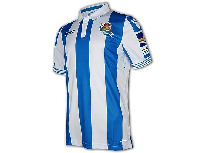 Maillot Domicile Real Sociedad 18/19: Amazon.es: Deportes y aire libre
