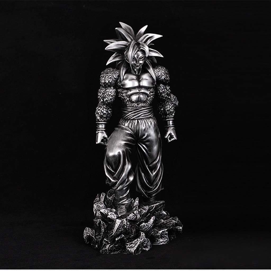 buena calidad HRSGJK Juguete Modelo Anime Escultura Escultura Escultura Decoración Súper Saiyan Goku Recuerdo Artesanía Estatua Modelo 24 Cm  Ven a elegir tu propio estilo deportivo.