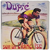 3dRose 8 x 8 x 0.25 Inches Mouse Pad, Vintage Dupre Sur La Francaise Bicycles Advertising Poster (mp_149749_1)