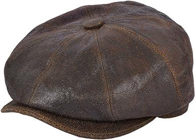 Gladwinbond, gorra de piel de oveja con 8 paneles: Amazon.es: Ropa ...