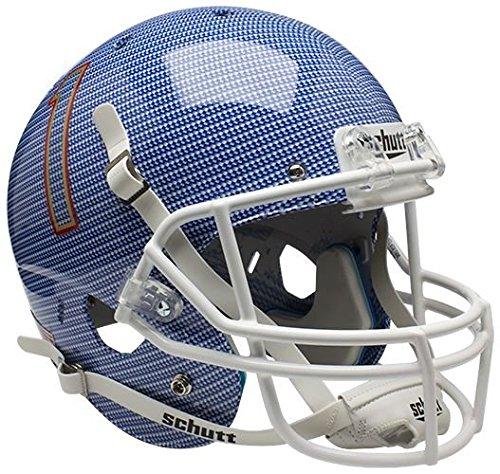 NCAA Tulsa Golden Hurricane Replica XP Helmet - Alternate 1 (Carbon Fiber) by Schutt