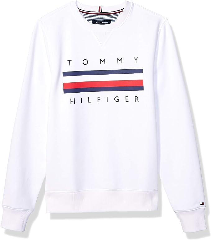 Tommy Hilfiger 汤美费格 男式圆领卫衣 XS码3.1折$28.02 海淘转运到手约¥258
