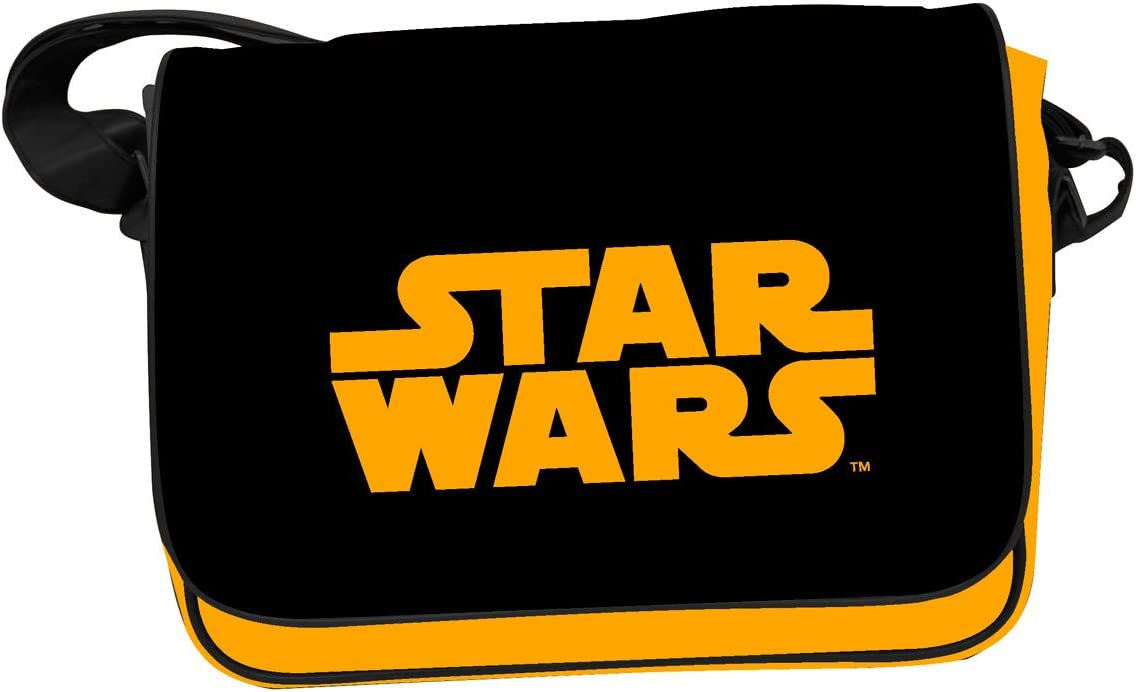8436546896531 Sac Besace Star Wars Logo Star Wars Orange SD toys