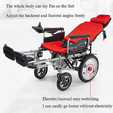 Silla de ruedas eléctrica Plegable inteligente Portadora ...