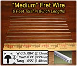 Guitar Fret Wire - Standard Medium/Medium