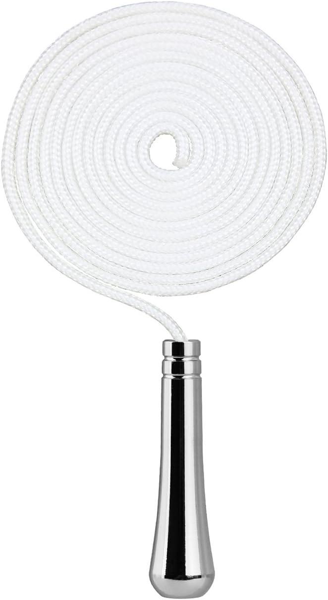 SFTlite Cordón decorativa para Ventilador, candelabro, persianas luz tira de Cordón la Cordón de 150cm de largo baño interruptor de baño  chapado en la luz del ventilador de luz tirón