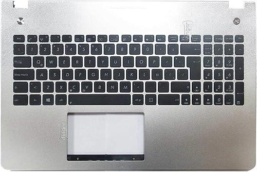 IFINGER Teclado español para ASUS Notebook N Series N56 N56VM ...