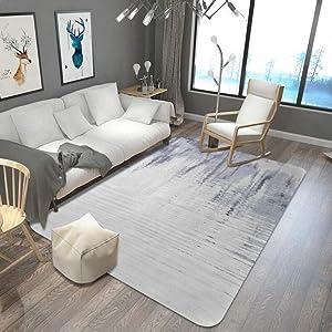 KFEKDT Nordic Style Large Living Room Carpet Crystal Velvet Non-Slip Restaurant Floor Mat Bedside Carpet Quicksand Room Carpet No-1 180x280cm