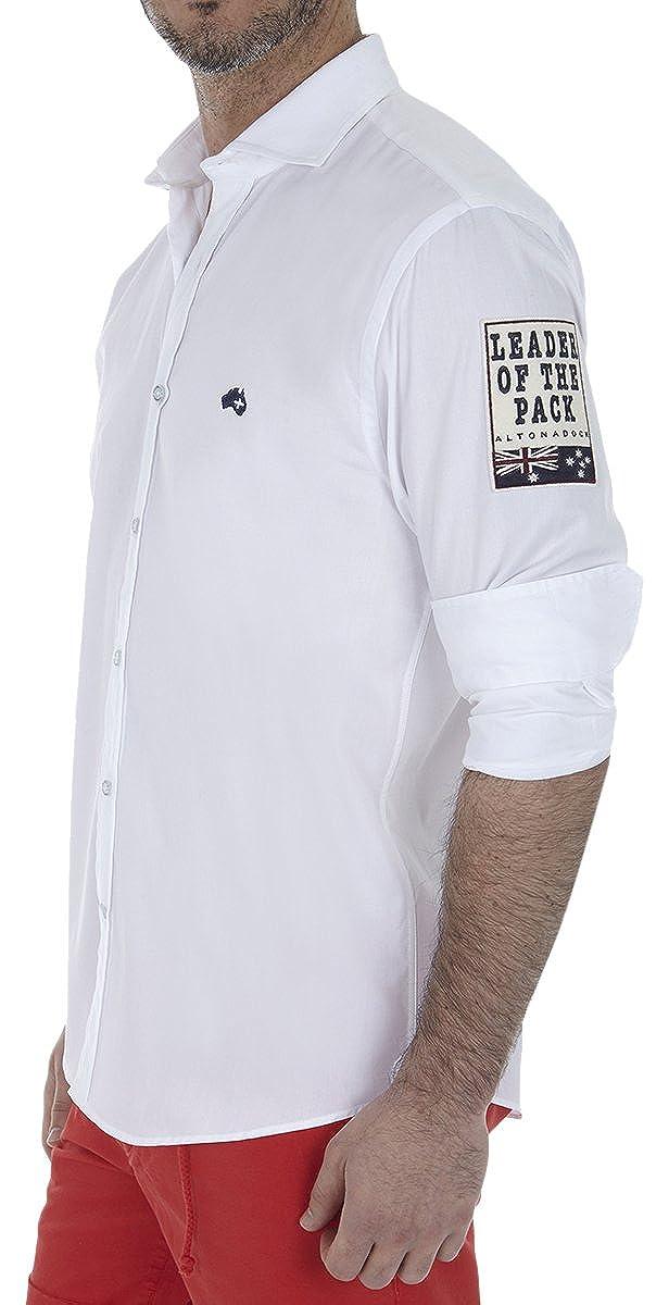 TALLA L. Altonadock Camisa Casual para Hombre