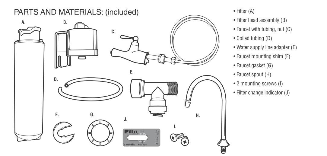 3M 4US-MAXL-S01H Quick Change Single Stage Drinking Water Filter System by 3M (Image #2)