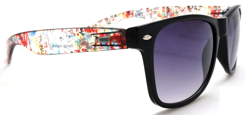 Amazon.com: Unisex Wayfarer – Gafas de sol, Color Fancy ...