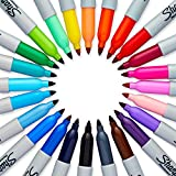 Sharpie Electro Pop Permanent Markers, Fine