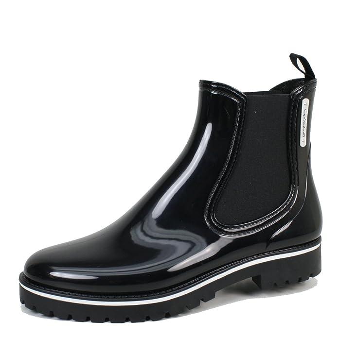 126254bec59d Bockstiegel Damen Stiefeletten schwarz Multi Oxford schwarz 464689   Amazon.de  Schuhe   Handtaschen