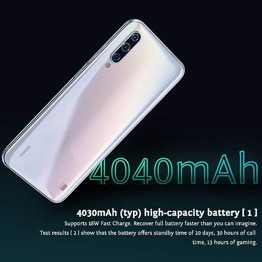 Xiaomi Mi A3 Smartphone, 4GB RAM 64GB ROM Mobilephone, Pantalla ...