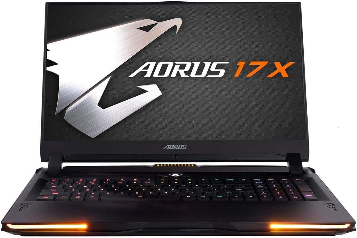 [2020] Gigabyte AORUS 17X XB-8US2150MP 17.3 Hard Core Gaming Laptop 240Hz FHD IPS LCD, i7-10875H, NVIDIA GeForce RTX2070 Super Max-P, 16GB RAM, M.2 PCIe 1TB SSD, Win 10 Pro