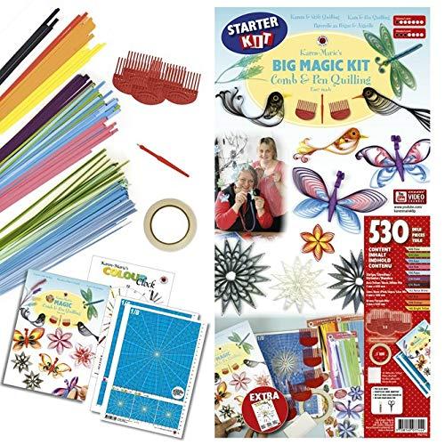 Karen Marie Klip: Magic Comb & Pen Quilling Kit, Big Starter Kit