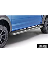 Aps Iboard Running Boards  Custom Fit   Ford F Supercrew Cab Pickup
