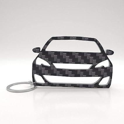 ACF Peugeot 308 Real Carbon Tuning Llavero - Regalo: Amazon ...