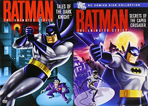 DC Comics Animated DVD Collection - Batman: Tales of the Dark Knight & Secrets of the Caped Crusader 2-Pack 8 Episodes
