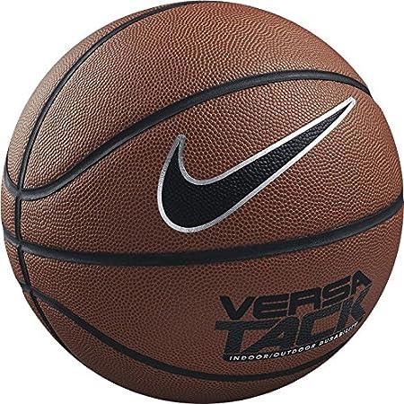 Nike Versa Tack Ballon de basket - 7 Mixte Ball Versa Tack - 7 Amber/Black-Platinum BB0434 BB0434_801-tagliaunica