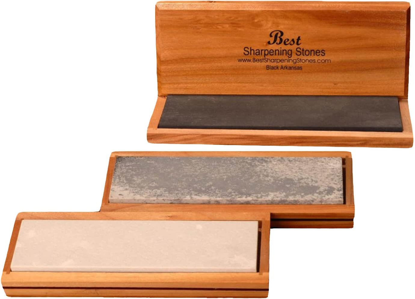 "2 pack 2 sizes 4/"" and 6/"" Soft novaculite Arkansas Sharpeners Sharpening Stones"