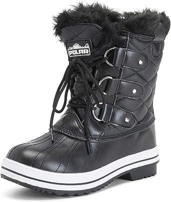 Black Womens Snow Boots