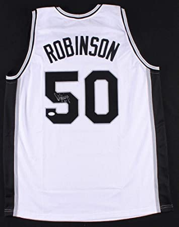 9c59998fd Image Unavailable. Image not available for. Color  David Robinson  Autographed Signed Spurs Jersey ...