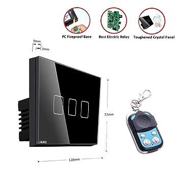 Smart Wall Touch Schalter US-Standard, Touchscreen, Home Dimmer ...