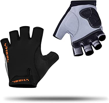 Half Finger Gel Cycling Gloves Sports Gym MTB Mountain Road Bike Bicycle For Men