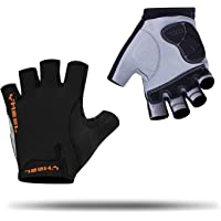 YHEEL Mountain Bike Gloves, Breathable Half Finger Cycling Gloves with Shock-Absorbing Gel Pad, Specialized Road Bicycle…