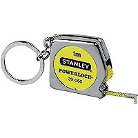 Stanley Mezura Powerlock (1 M Anahtar Halkası Bulunur, Otomatik Geri Sarım Son Kancanın Plastik) 0 – 39 – 055