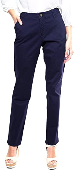 Dockers Pantalon Azul Marino Pantalones Para Mujer Azul Talla 4 Amazon Com Mx Ropa Zapatos Y Accesorios