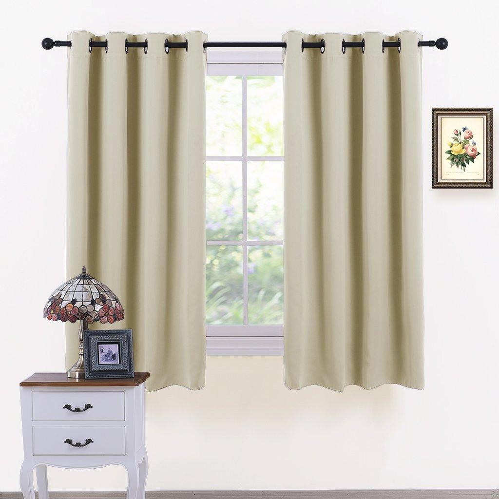 PONY DANCE Beige Window Curtain