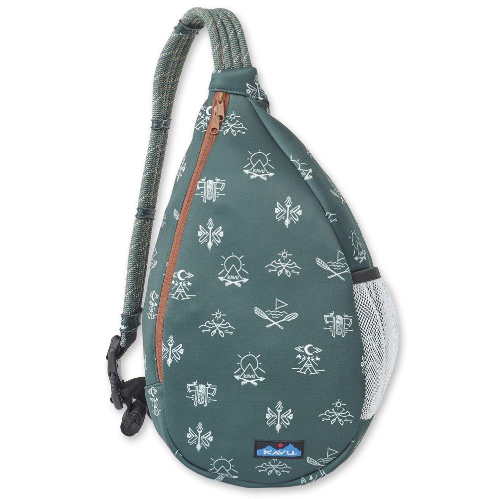 KAVU Saxton Pack Crossbody Neoprene Rope Sling Bag