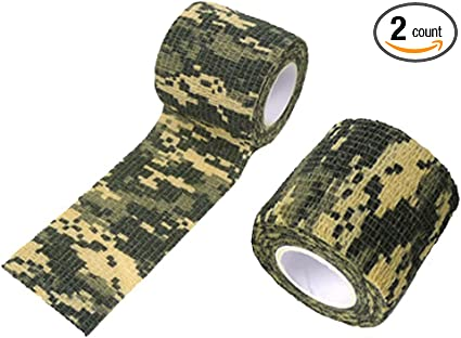 Outdoor Camo Gun Hunting Camping Camouflage Stealth Duct Tape Wrap Waterproof