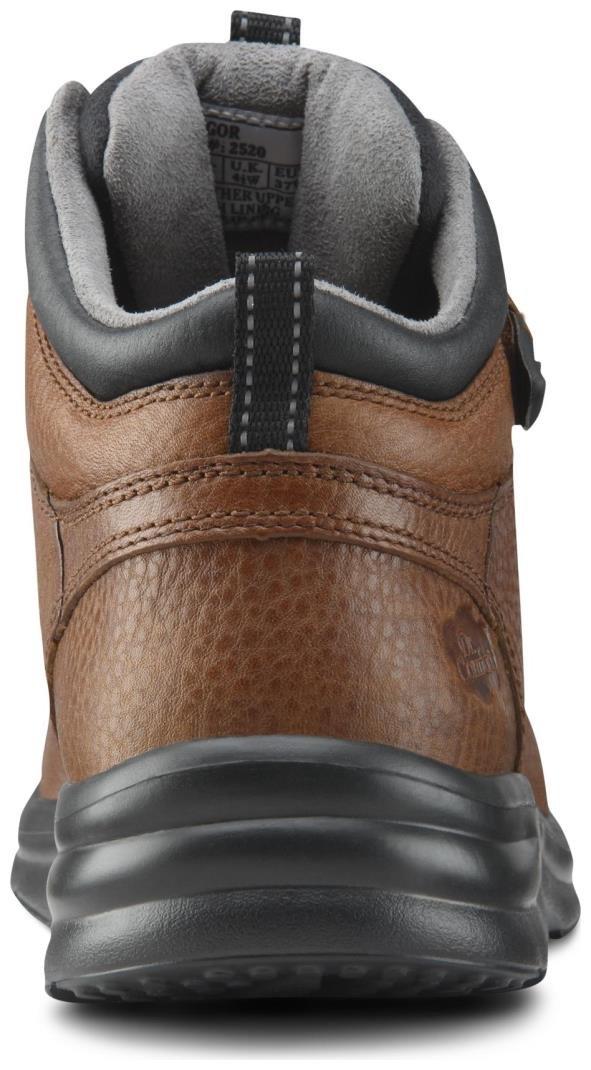 Dr. Comfort Women's Vigor Chestnut Diabetic Hiking Boots by Dr. Comfort (Image #5)